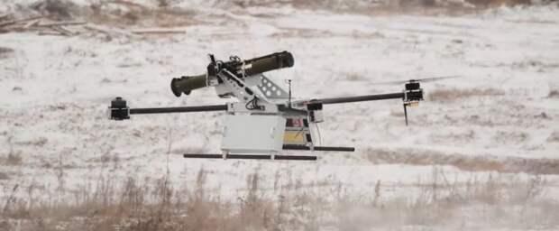 Летающие гранатомёты. Белорусы прицепили РПГ-26 на квадрокоптер