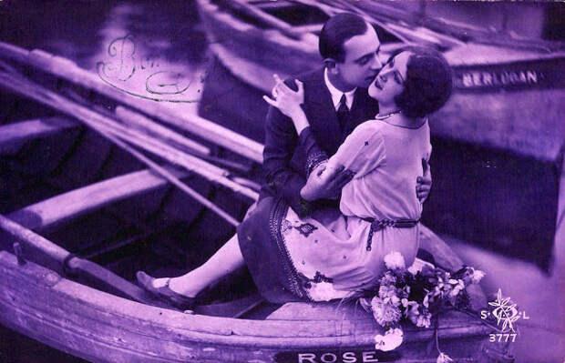 Французские открытки, в которых показано, как романтично целовались в 1920-е годы 49