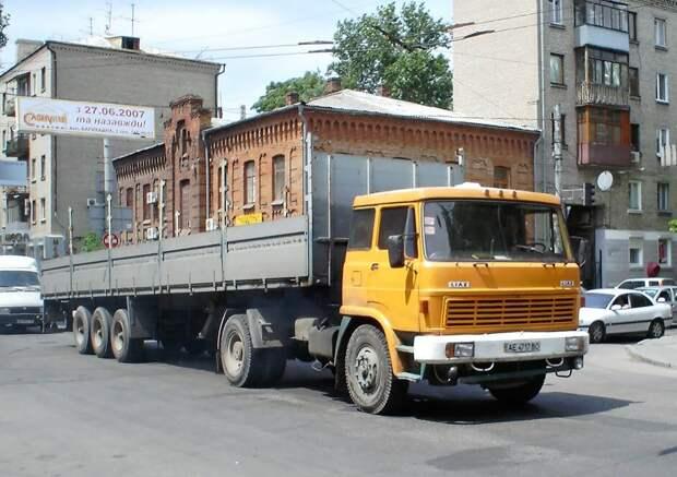 Легенды Совтрансавто. Грузовики LIAZ 100/110