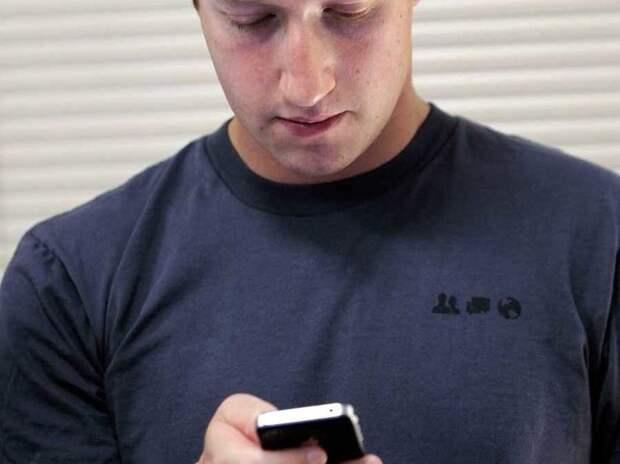 Марк Цукерберг рассказал, какими смартфонами любит пользоваться