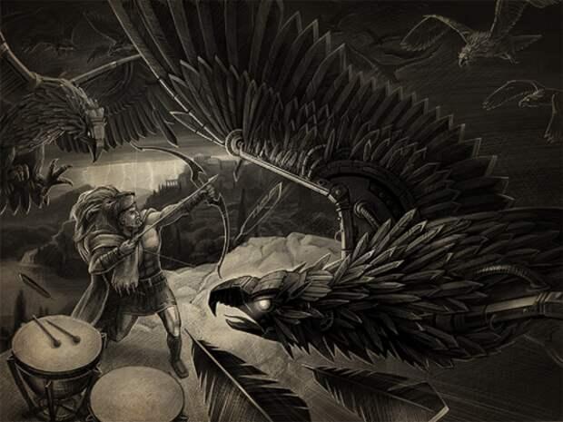 Самые жуткие монстры древнегреческой мифологии
