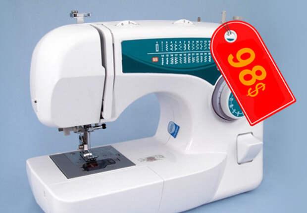 Недорогая швейная машинка