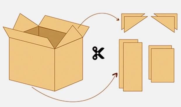 Домик для малыша в квартире своими руками из картонной коробки, бумаги или газет, подручных средств