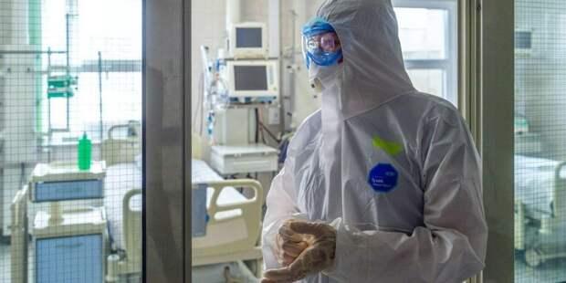 Студенты объяснили решение практиковаться в ковидных клиниках Фото: mos.ru