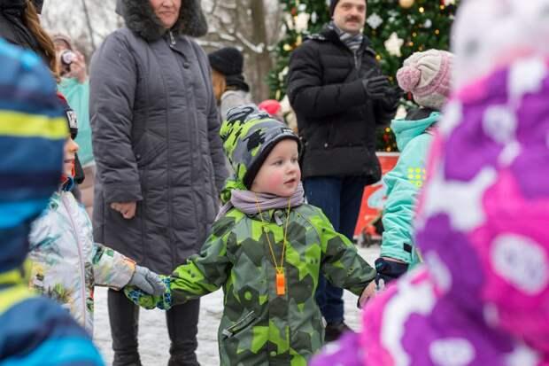 Две площадки фестиваля «Путешествие в Рождество» открылись вблизи Алтуфьева Фото: пресс-служба Лианозовского парка