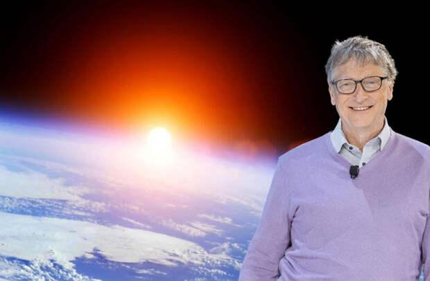 Билл Гейтс хочет осыпать Землю мелом, чтобы спасти человечество. Сколько людей умрет в результате?