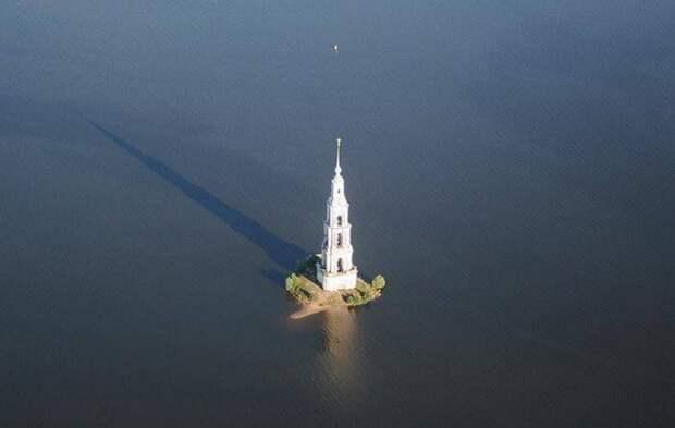 Легенда или реальность: По ком звонит колокол в затопленном на Волге городе Калязине