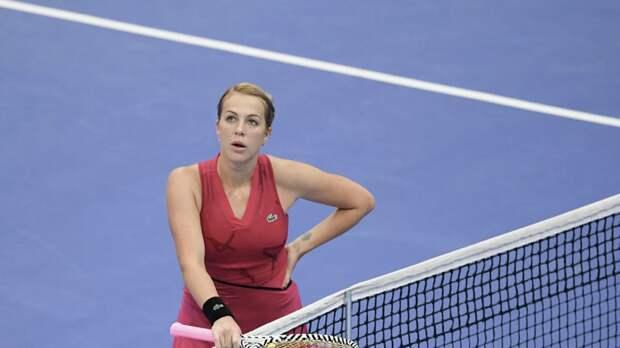 Павлюченкова снялась с турнира WTA в Риме из-за травмы