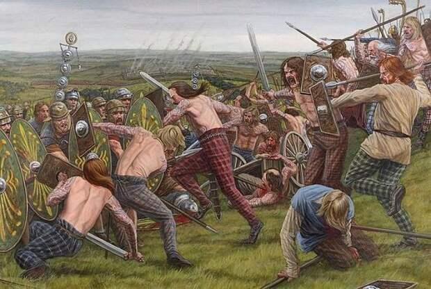 Бои голышом, синие тела и другие факты о пиктах - древнем шотландском племени, которого боялись даже в Римской империи (2 статьи)