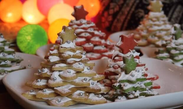 Сладкая елочка в 3D формате — оригинальное украшение новогоднего стола