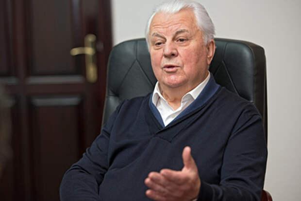 Кравчук захотел перенести переговоры по Донбассу в другую страну