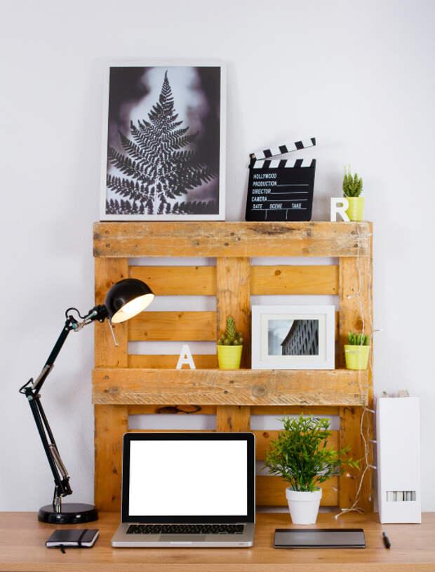 Симпатичная настольная полка. | Фото: Profit-maker.org.