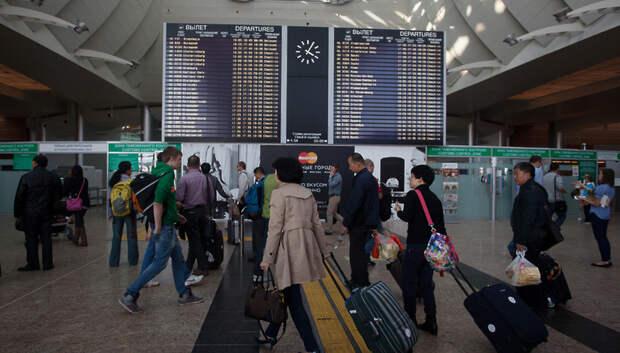 20 рейсов задержали и отменили в аэропортах Московского региона в четверг