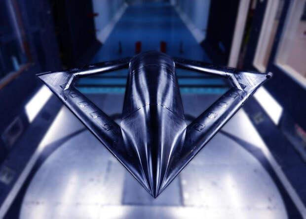 Американцы показали модель самолета без механизации крыла
