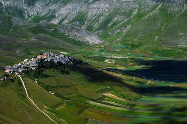 Виртуальная прогулка по живописной итальянской долине