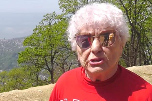 99-летняя «железная бабушка» приняла участие в гонках в Сочи
