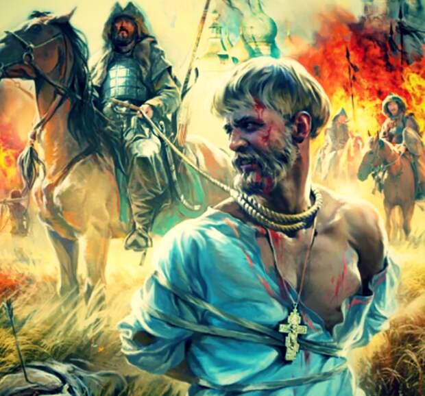 Много славян оказалось в монгольском рабстве.