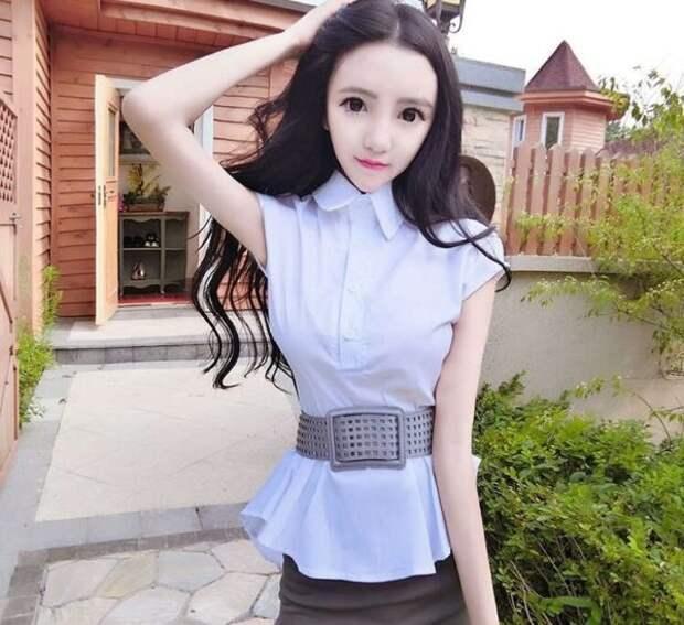 Китаянка ест только мед и пыльцу, чтобы поддерживать вес двадцать килограмм, и выглядеть совершенством!