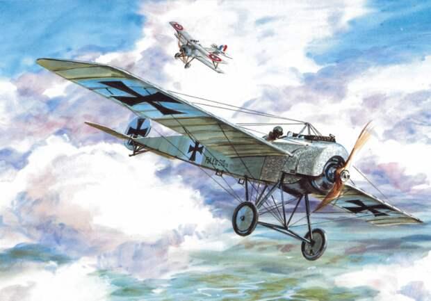 Как самолёты научили стрелять через винт