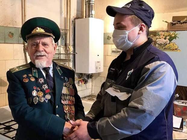 Газовую технику бесплатно заменили для 5,5 тысячи ветеранов Подмосковья