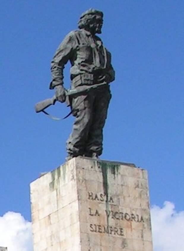 Памятник Че вСанта-Кларе.