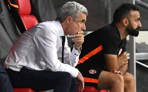 Главный тренер «Шахтера» Каштру объявил об уходе из клуба