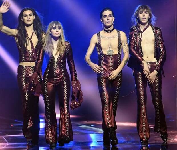 Победу на Евровидении-2021 одержала итальянская группа Måneskin