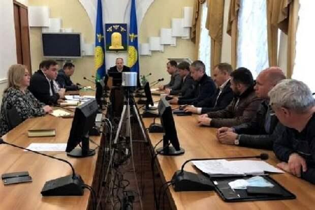 В администрации Тамбова обсудили подготовку к празднованию Дня Победы