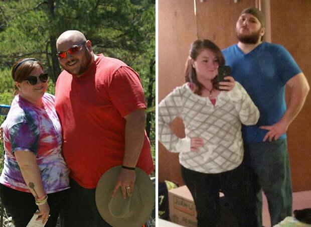 Жених с невестой перед свадьбой расстались с лишними 60 кило диета, лишний вес, похудение
