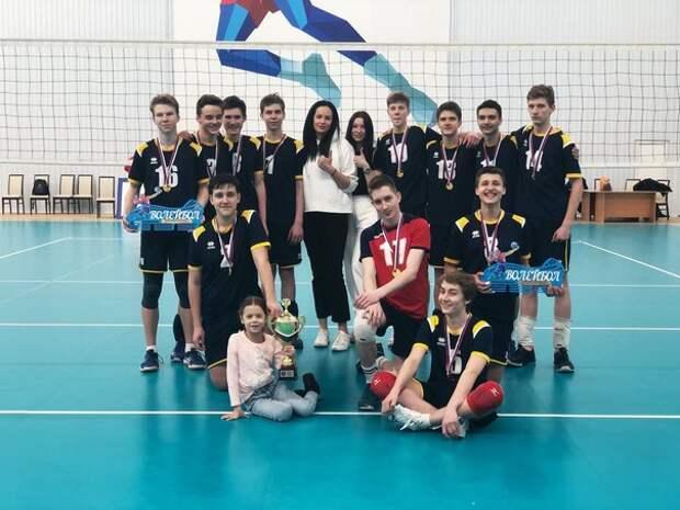 Волейболисты из Южного Медведкова помогли сборной Москвы выиграть первенство России