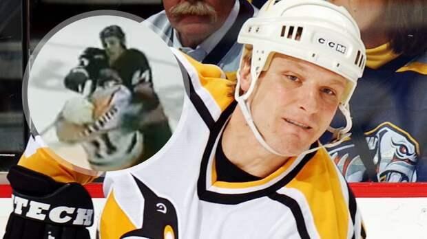 «Телохранитель» Буре отправил в больницу российского хоккеиста. Оджик уложил Каспарайтиса с одного удара: видео