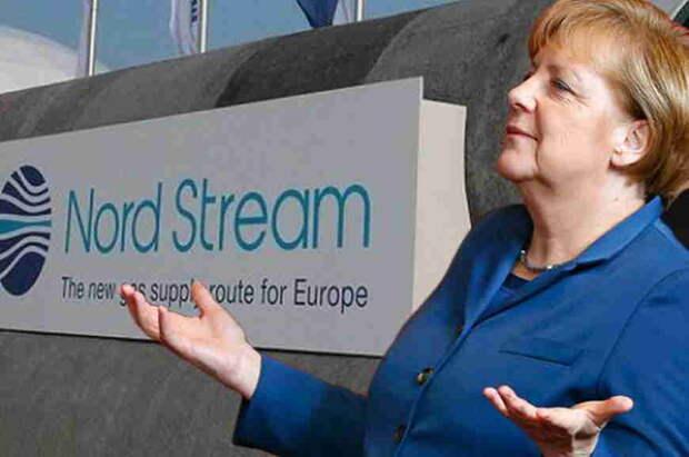 Меркель поддержала «Северный поток-2»