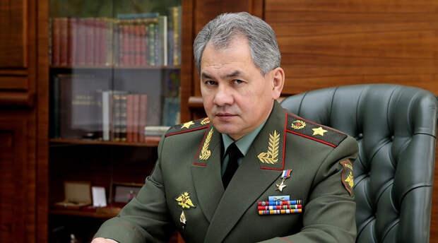 Сергей Шойгу оценил военно-политическую обстановку в Донбассе и Черноморском регионе