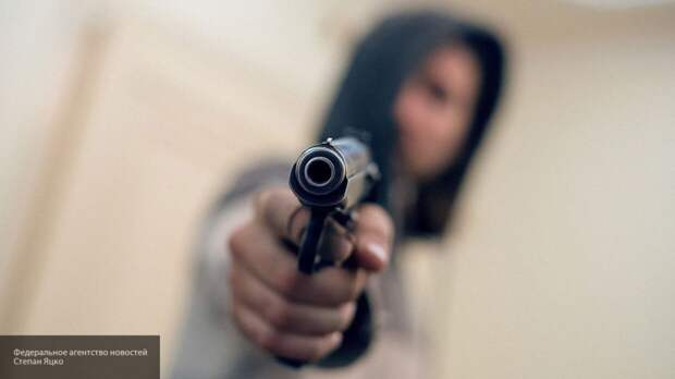 Вооруженный пистолетом житель Рязани устроил потасовку с собакой и ребенком