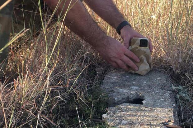 Установка экшн-камеры. Скрин из видео.