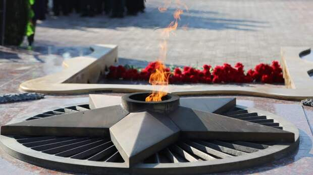 В Симферополе временно погас Вечный огонь