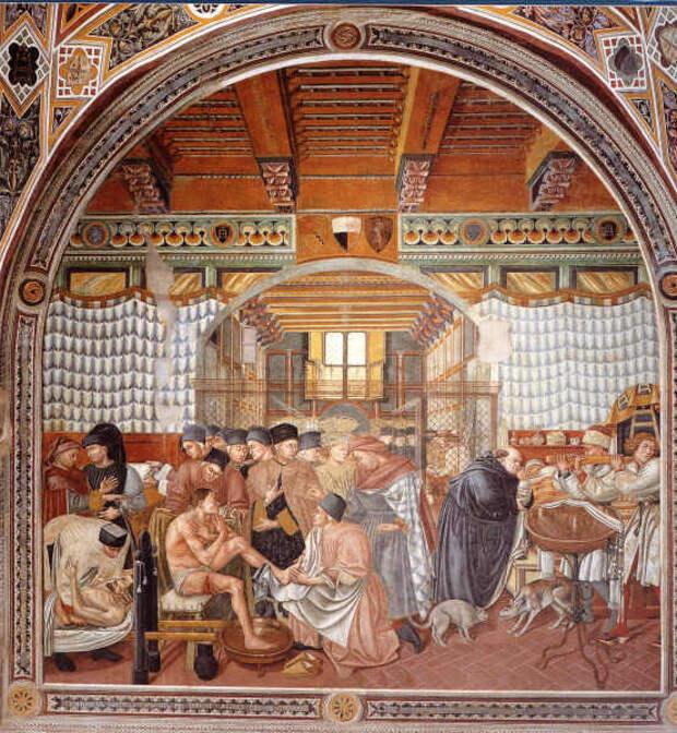 Картинки по запросу средневековые больницы