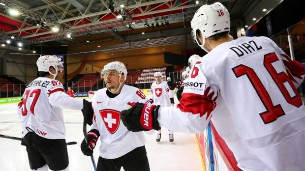 Белоруссия разгромно проиграла Швейцарии и лишилась шансов на выход в плей-офф ЧМ-2021