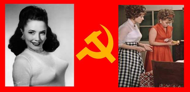 """Сравните: """"бюстик"""" импортный (слева) и наш, отечественный (кадр из фильма """"Москва слезам не верит"""" 1979г). Наш гораздо физиологичнее, но не такой """"задорный""""."""
