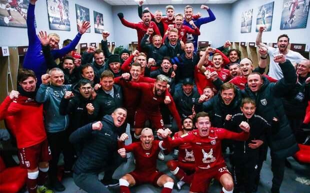 «Рубин» выложил видео с эмоциями команды в раздевалке после победы над «Зенитом»