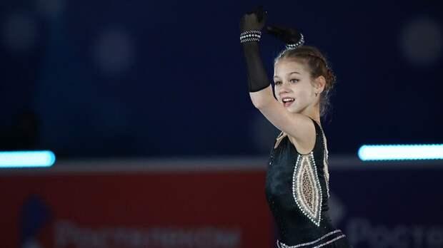 Сотникова одним словом описала рекордную победу Трусовой наSkate Canada