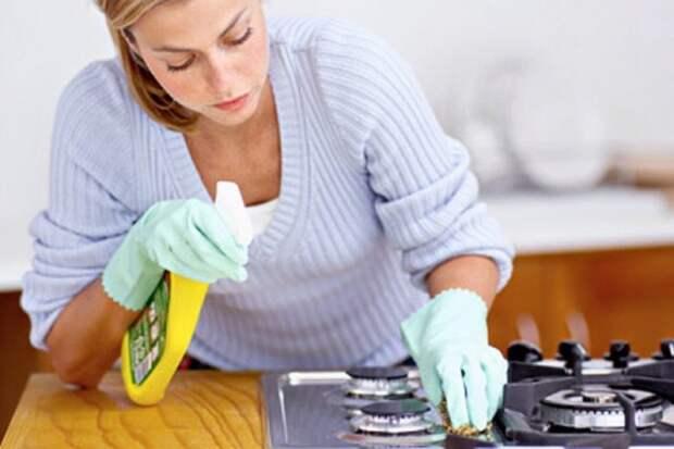 Чистим плиту: эффективно и экономно