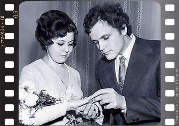 Свадебные фото советских знаменитостей (7 фото)