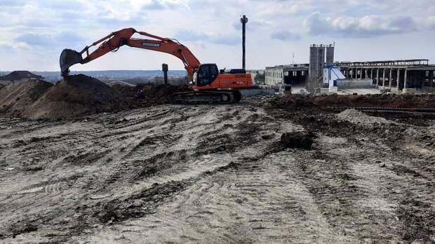 Проведена очередная инспекция по строительству улично-дорожной сети возле ЖК «Крымская роза» в Симферополе