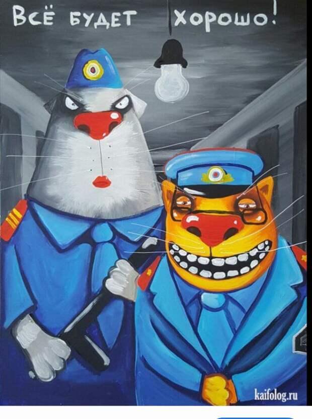 Полиция. Бандиты. Диаспоры. Насилие