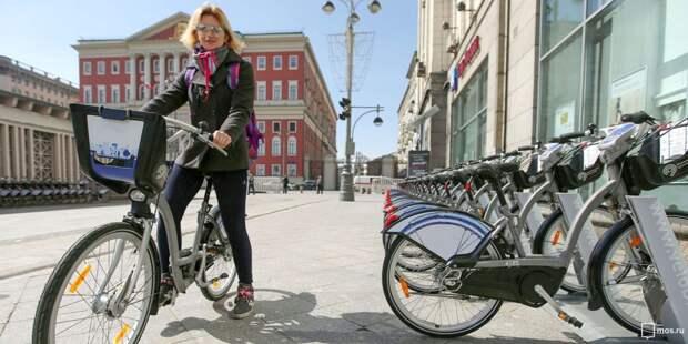 9 мая на проспекте Маршала Жукова и Живописной бесплатное время велопроката увеличится вдвое