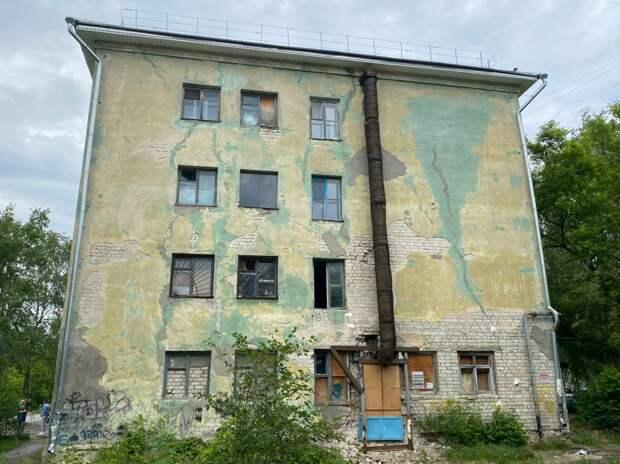 Аварийный дом в Дзержинске отключили от ресурсов