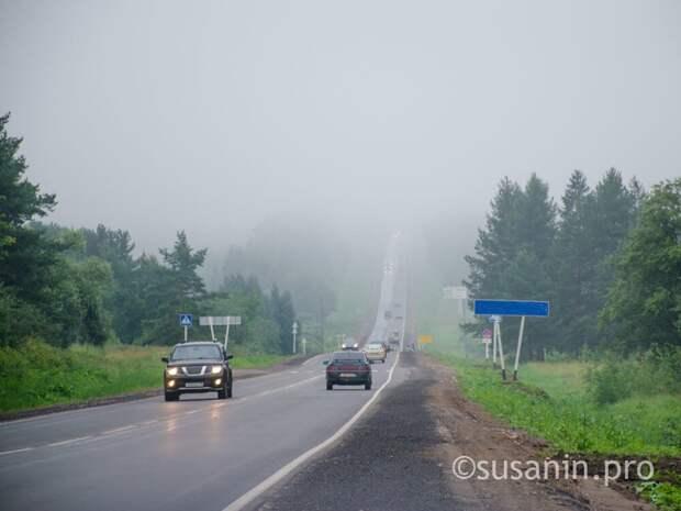 Туман накроет Удмуртию 7 июля