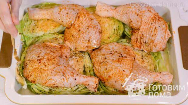 ШАЙБЫ из Капусты с Курицей в Духовке фото к рецепту 5