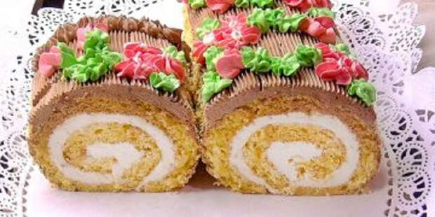 Бисквитный торт-рулет «Сказка»: классика, ставшая символом детства